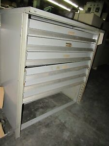 Lyon Industrial 6 Drawer Parts Cabinet Parts Storage