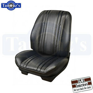 1969 Chevelle Malibu El Camino Front Seat Upholstery Covers Pui Brand New