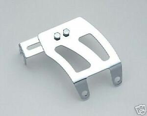 Chrome Throttle Cable Bracket Chevy Small Block Quadrajet Edelbrock Holley Afb