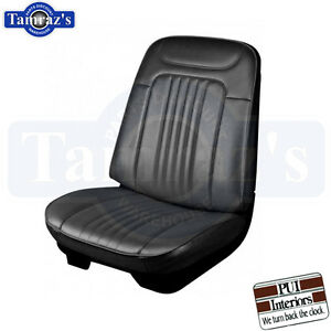 1971 1972 Chevelle Malibu Front Rear Seat Upholstery Covers Pui New