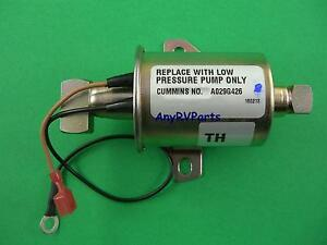 Genuine Onan A047z224 Rv Generator Kvc Fuel Pump 149 2331 03 A029g426