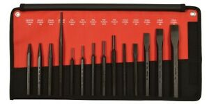 Mayhew Tools 61044 Punch And Chisel Set 14 Pc