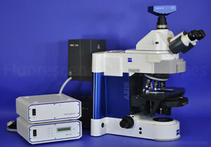 Zeiss Model Axio Imager M1 Motorized Upright Fluorescence Microscope