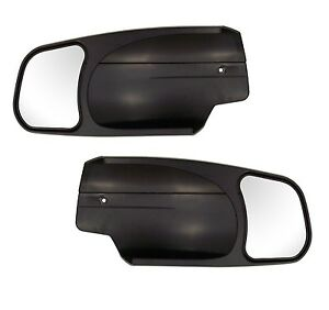 Pair Cipa 10900 Chevrolet gmc cadillac Custom Towing Mirrors New Free Shipping