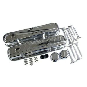 Small Block Mopar 318 360 Chrome Valve Cover Kit Dodge Plymouth 273 340 La