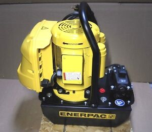 Hk Porter Enerpac Hke0751a Electric Hydraulic Pump 1 Hp Max Psi 7800 New