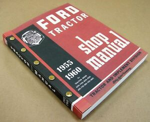 Ford 820 840 850 860 871 881 941 Tractor Service Repair Shop Manual Gas