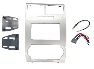 Double Din Dash Radio Stereo Installation Kit Fits 2005 07 Dodge Charger Magnum