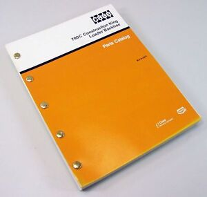 Case 780c Construction King Loader Backhoe Parts Manual Catalog Exploded View Ck