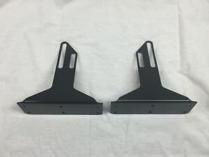 Front Bumper Wind Splitter Support Brackets 92 00 Civic Del Sol Integra 94 01
