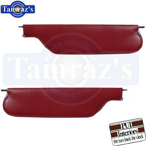1967 1969 Camaro Firebird Sunvisors Convertible Pair Pui New