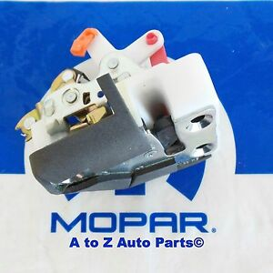 New 1997 2002 Jeep Wrangler Tj Full Metal Driver Side Door Latch Oem Mopar