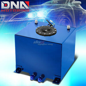 5 Gallon Lightweight Performance Blue Coat Aluminum Fuel Cell Tank level Sender