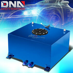 10 Gallon Light Performance Blue Coated Aluminum Fuel Cell Tank Level Sender