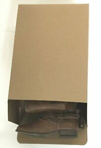 25 Extra Large Xl Shoe Box Reverse Tuck Cartons 15 5x11x 5 Kraft Brown Folding