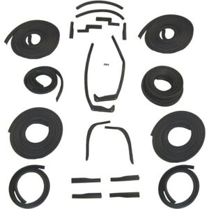 1955 1956 Cadillac 60 Special 4dr Sedan Body Weatherstrip Seal Kit