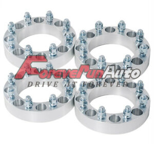 4pc 8x6 5 1 5 Wheel Spacers 8 Lug For 1999 2010 Chevy Gmc Sierra 2500hd 3500hd