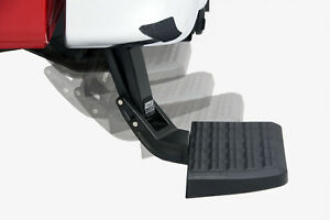 Amp Bedstep Retractable Step For 09 18 Dodge Ram 1500 Dual Exhaust Or Ecodiesel