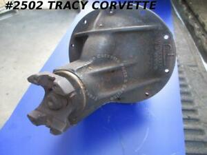 1960 1961 Chevy Vette 3743833 3 36 Posi Diff Assembly G 18 0 Casting Date 3 36