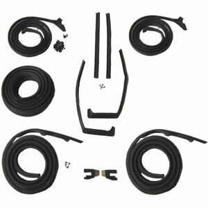 1959 1960 Chevrolet Oldsmobile Pontiac 2dr Hardtop Weatherstrip Seal Kit