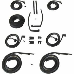 1959 1960 Oldsmobile 98 Ninety Eight 4dr Hardtop Body Weatherstrip Seal Kit