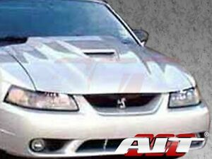 1999 2004 Ford Mustang Ait Racing Type 2 Style Functional Cooling Frp Hood Body