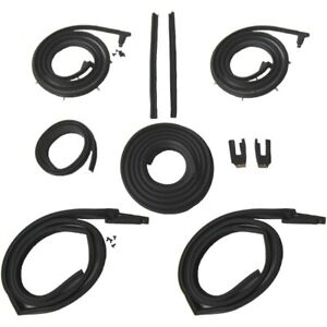1963 1964 Cadillac Series 62 Deville 2dr Hardtop Body Weatherstrip Seal Kit