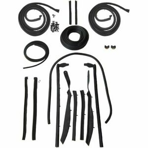1961 1962 Cadillac Eldorado Series 62 Convertible Body Weatherstrip Seal Kit