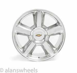 New Chevy Silverado Tahoe Suburban Avalanche Ltz 20 Polished Wheels Rims 5308pa