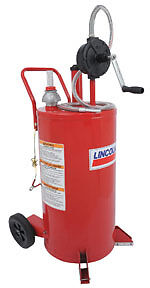 Lincoln Industrial 3675 25 Gallon Fuel Caddy