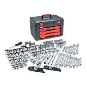 Gearwrench 80942 Multi Drive Metric sae Socket Ratchet Set 239 Pc
