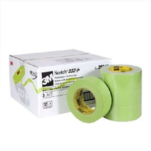 3m 26340cs 2 Scotch Premium Automotive 233 Masking Tape Case 12 Rolls