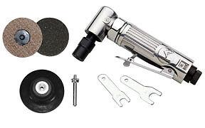 Atd 21310 1 4 Mini Angle Air Die Grinder surface Conditioning Kit