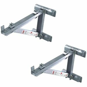 Werner Ac10 14 02 Short Body Aluminum Ladder Jacks set Of 2 1 Pair up To 14