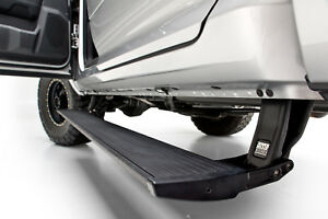 Amp Powerstep Retractable Running Board For 09 14 Ford F150 Pickup Raptor Svt