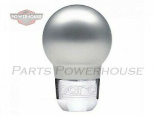 Sparco 037401an Shift Knob Racing Silver