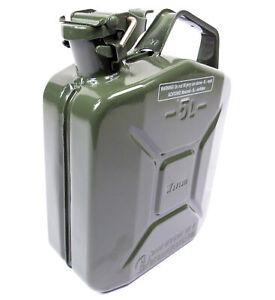 Valpro 5 Liter 1 25 Gallon Nato Jerry Can Built To Military Spec