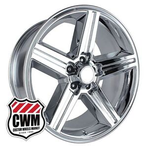 18 Inch 18x8 Iroc Z Chrome Oe Replica Wheels Rims For Chevy Camaro 1982 1992