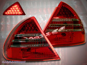 99 02 Mitsubishi Mirage Ls De 2dr 4dr Led Tail Lights 1999 2000 2001 2002