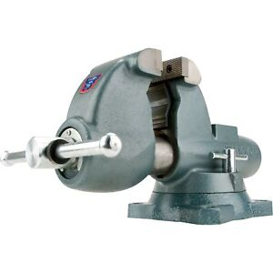 Wilton Pipe Bench Vise 6in Jaw Width 10275