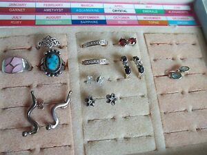 230 G Sterling Silver 925 Jewelry Lot Wear Scrap Pre Owned Vintage Fashion