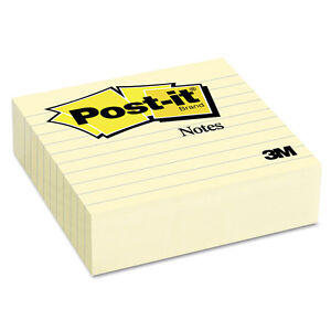 post it Notes Original Lined Notes 4 X 4 300 pad