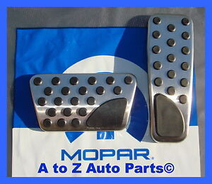 New 2008 2017 Dodge Challenger Pedal Pads Accent Kit Oem Mopar