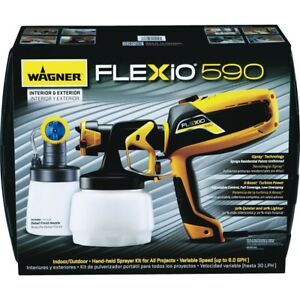 Wagner Flexio 590 Variable Speed Hand held Airless Paint Sprayer 0529010