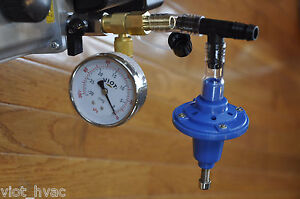 Vacuum Regulator gauge Tee Adapter Pulsator Surge Devanal Milker Kit cow Gaot