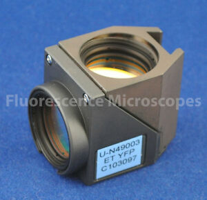Chroma Et Eyfp Fluorescence Filter Cube For Olympus Bx Microscope Life Guarantee