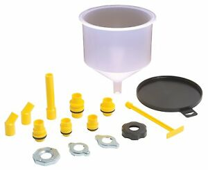 Lisle 24680 Spill free Funnel Kit Engine Oil Transmission Fluid New Free Ship