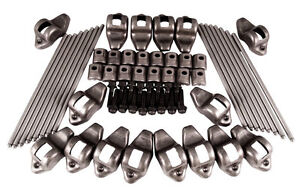 72 89 Ford 460 R855 Rocker Arms Rp3160 Push Rods Rockers Studs Tek460