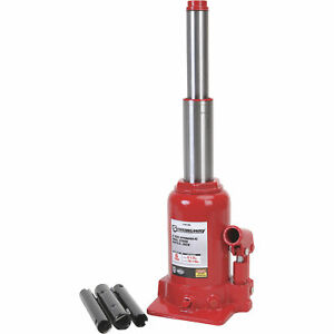 Strongway Hydraulic High Lift Double Ram Bottle Jack Ntf0602