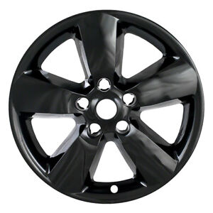 For 13 15 Dodge Ram 1500 Black 20 Wheel Skins Hub Caps Covers 5 Spokes